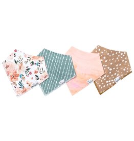 Copper Pearl Copper Pearl | 4-Pack Bandana Bib Set Autumn