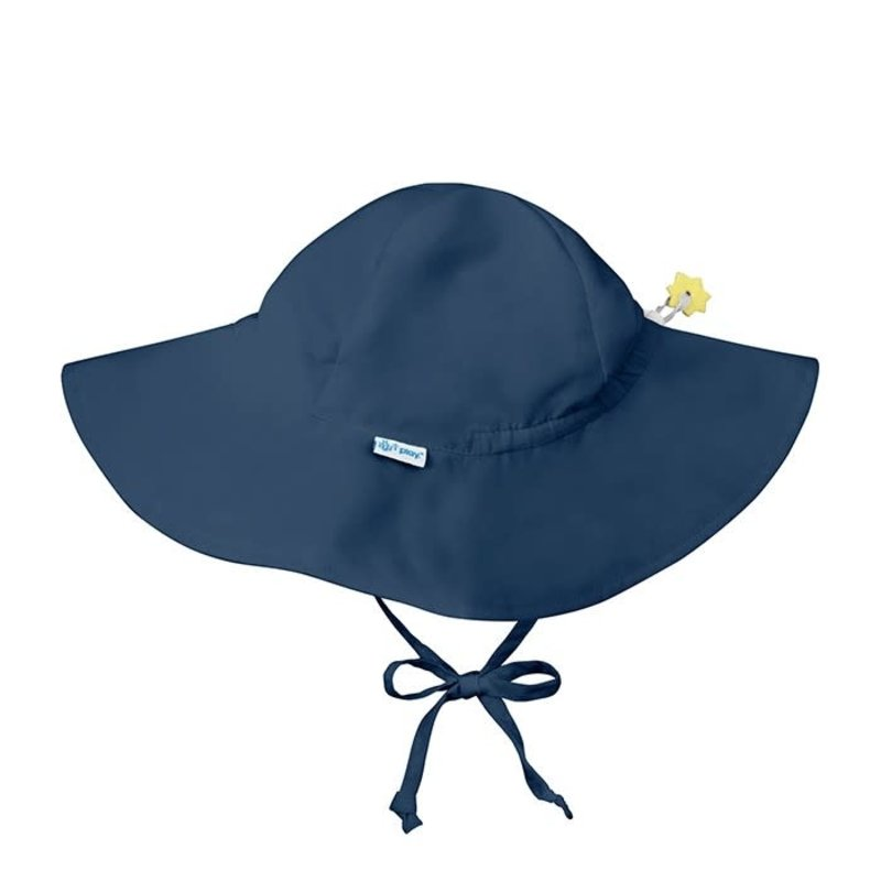 I Play Green Sprouts | Full Brim Solid Sunhat