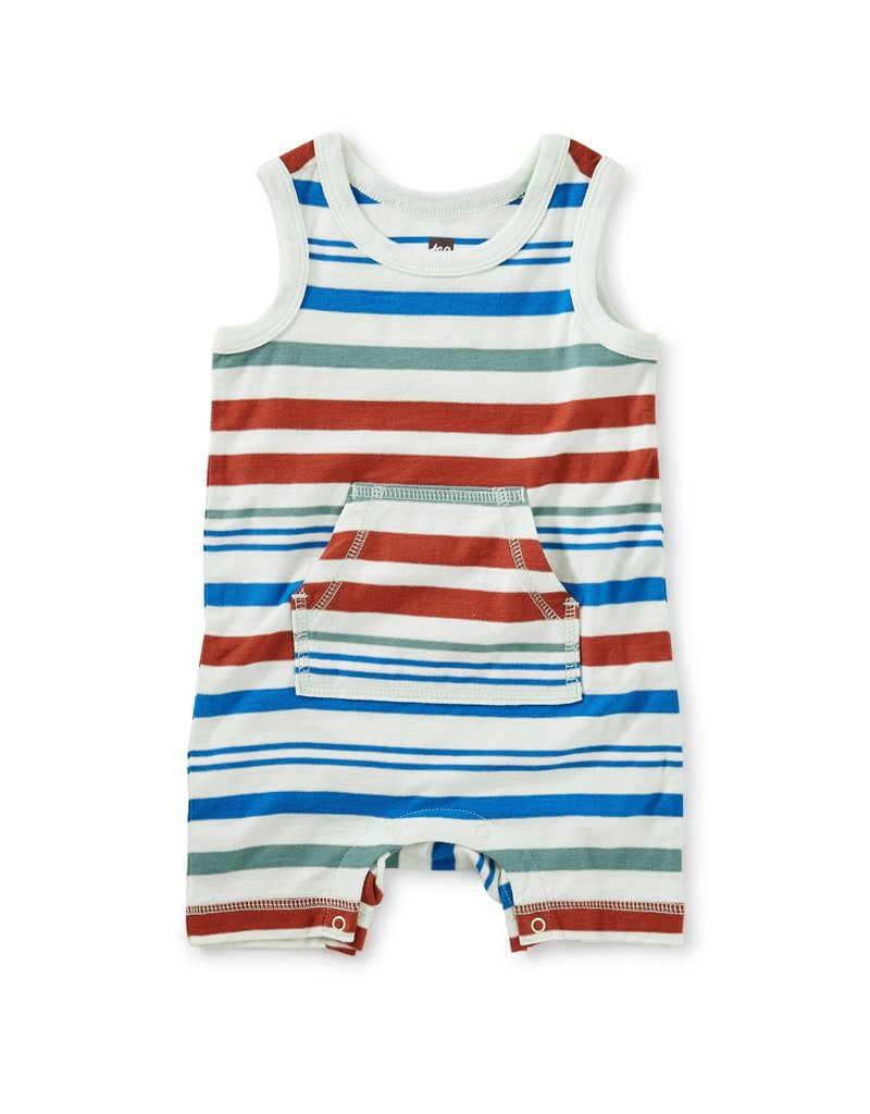 Tea Collection Tea Collection   Striped Tank Romper