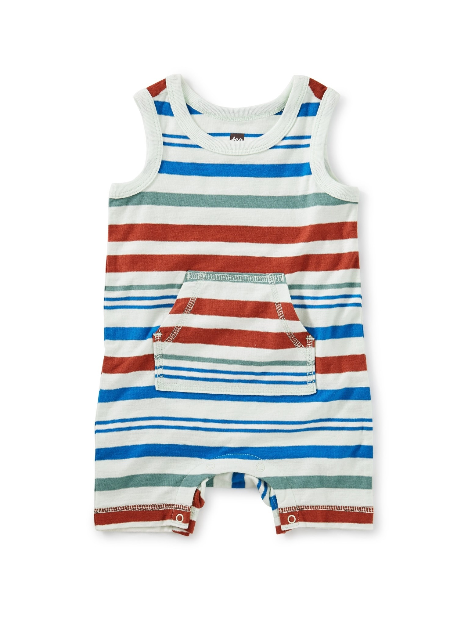 Tea Collection Tea Collection | Striped Tank Romper