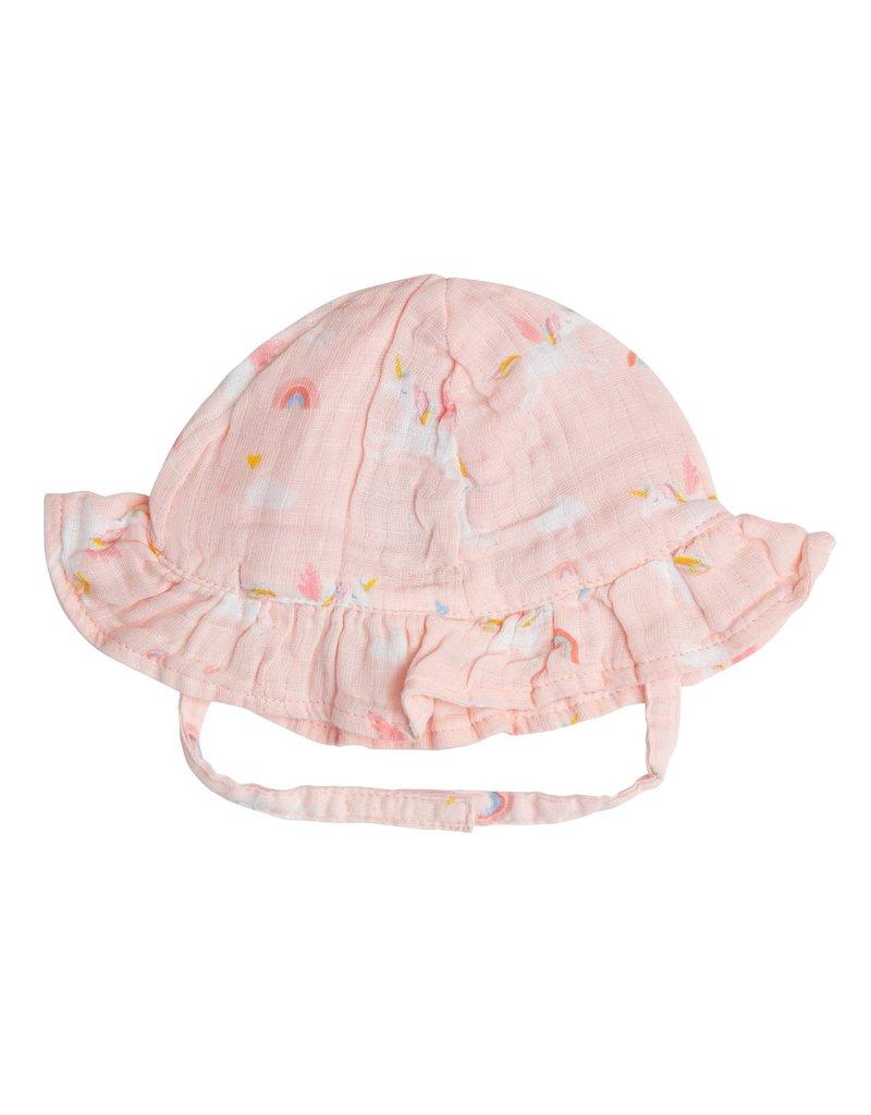 Angel Dear Angel Dear   Unicorns Muslin Sun Hat