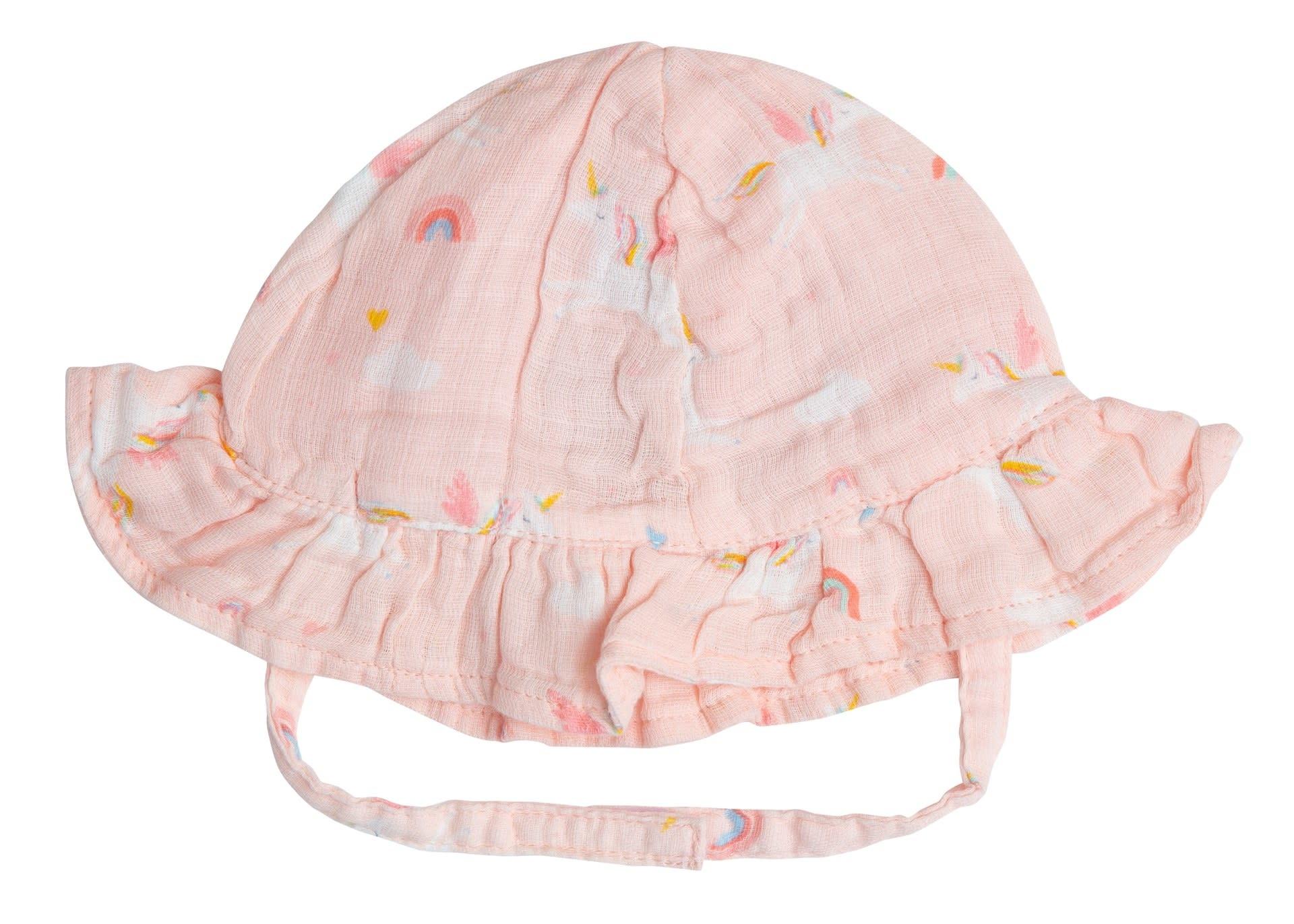 Angel Dear Angel Dear | Unicorns Muslin Sun Hat