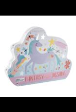 Floss & Rock 80 Piece Shaped Box Puzzle   Fantasy Unicorn