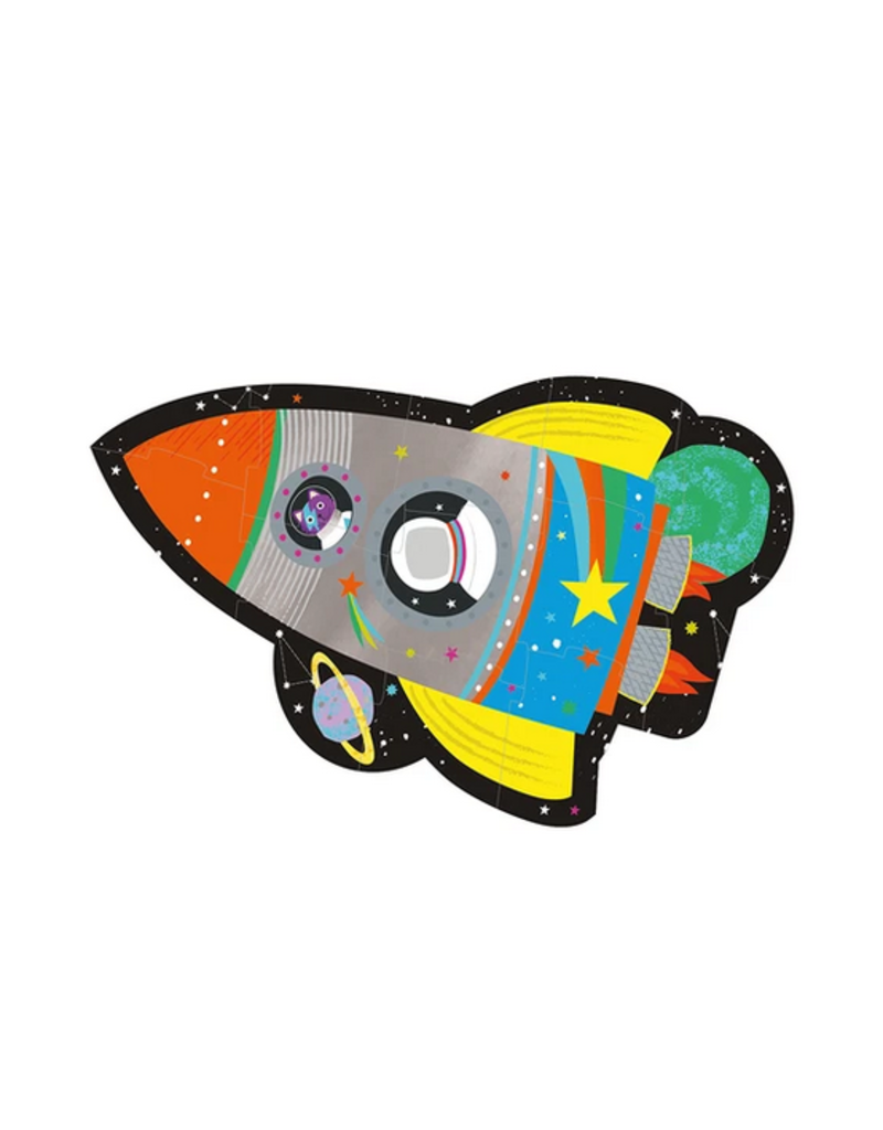 Floss & Rock 12 Piece Shaped Box Puzzle | Rocket