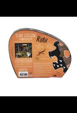 Floss & Rock 20 Piece Shaped Box Puzzle | Dinosaur