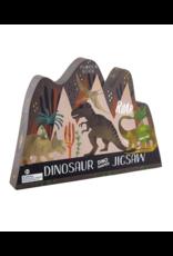 Floss & Rock 80 Piece Shaped Box Puzzle | Dinosaur