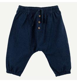 Oliver & Rain Oliver & Rain | Dark Blue Woven Pant