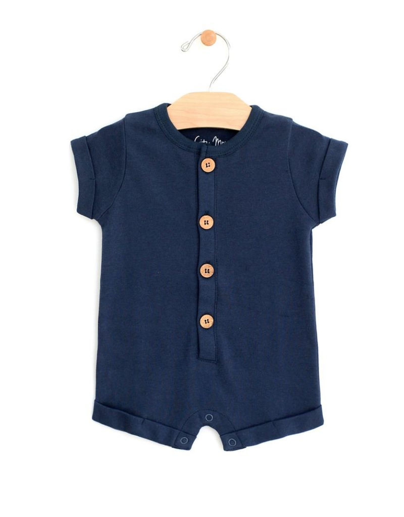 City Mouse City Mouse | Rolled Sleeve Romper