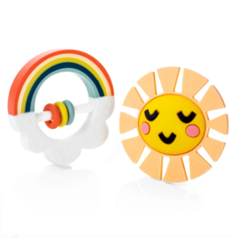 Lucy Darling | Little Rainbow Teether Set