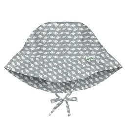 I Play Green Sprouts | Grey Fish Bucket Hat