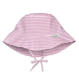 I Play Green Sprouts | Pink Pin Stripe Bucket Hat