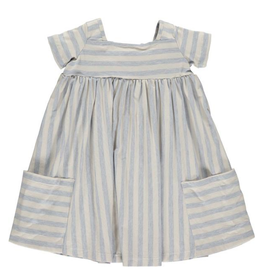 Vignette Vignette | Rylie Baby Dress Set in Sky
