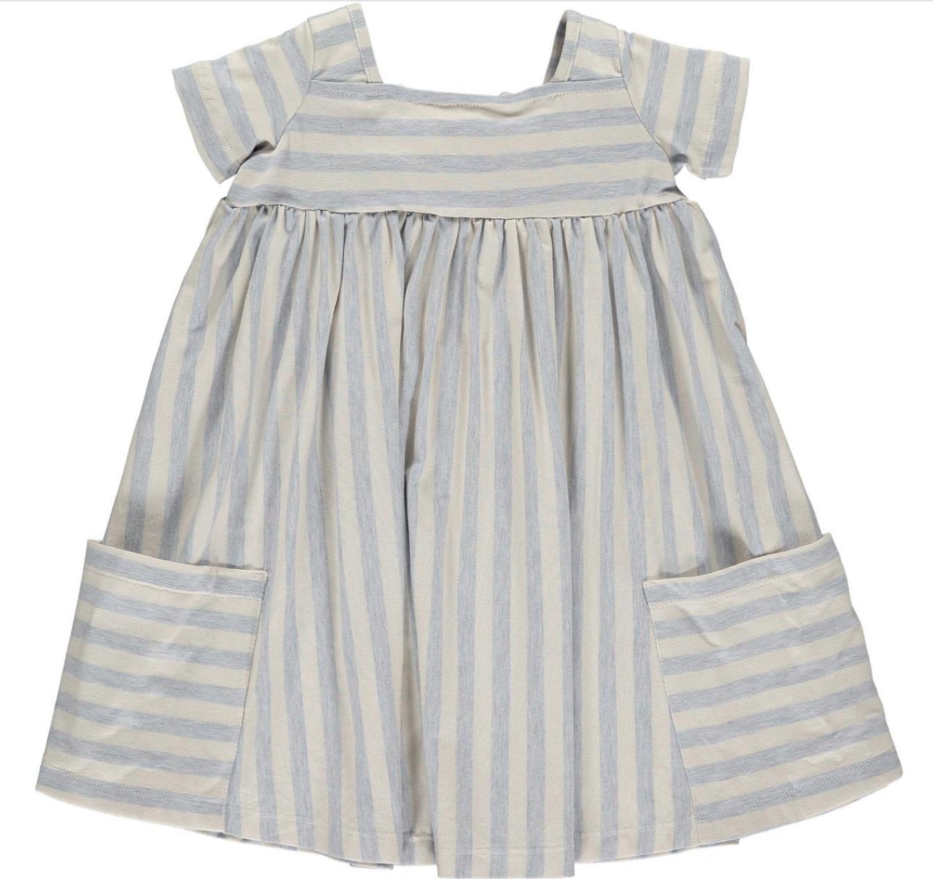 Vignette Vignette | Toddler Dress in Sky