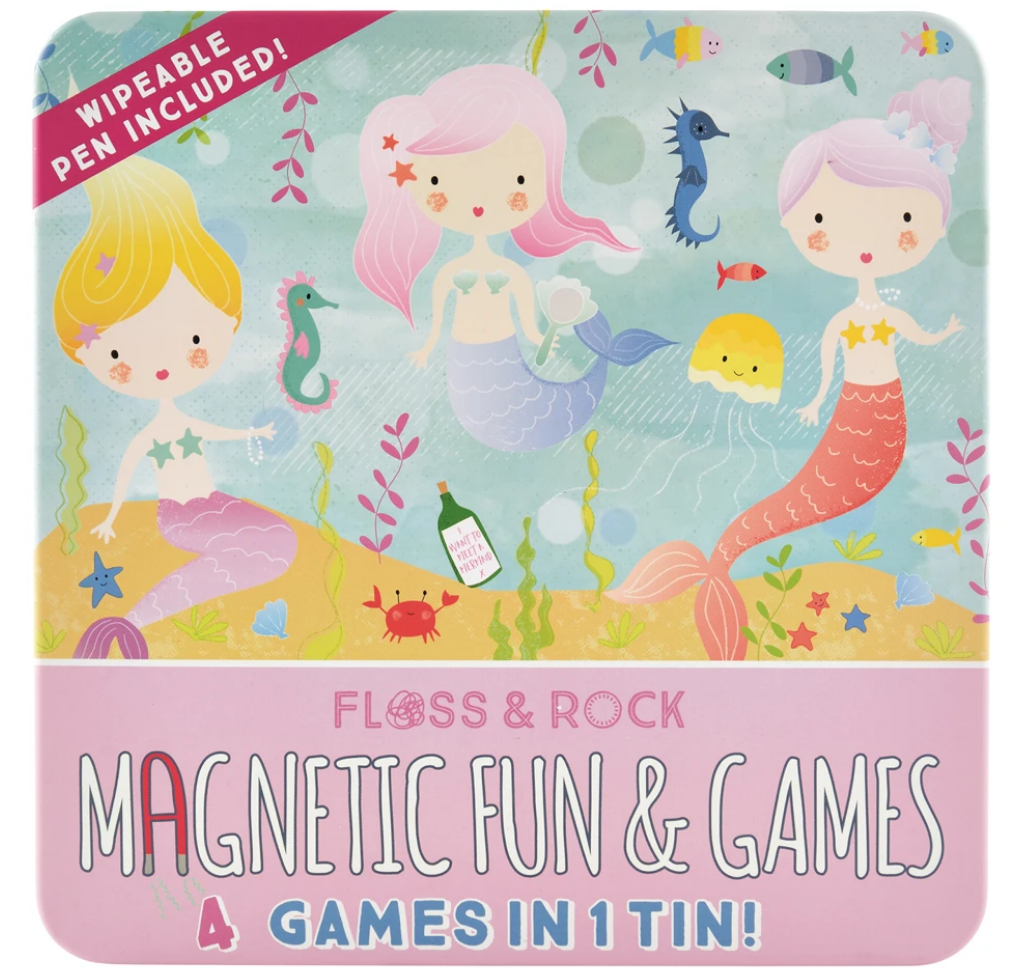 Floss & Rock Magnetic Fun & Games |  Mermaid