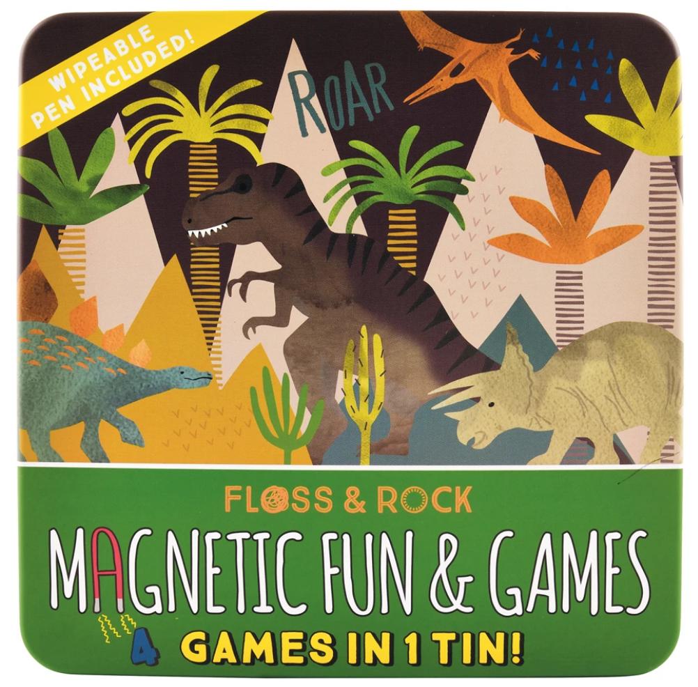 Floss & Rock Magnetic Fun & Games |  Dinosaur
