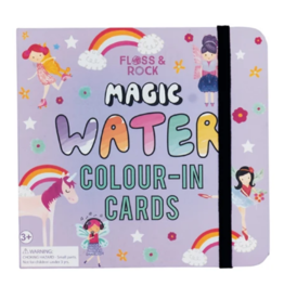 Floss & Rock Magic Water Card |  Fairy Unicorn