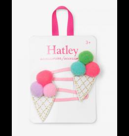Hatley | Pom Pom Cones Snap Clips