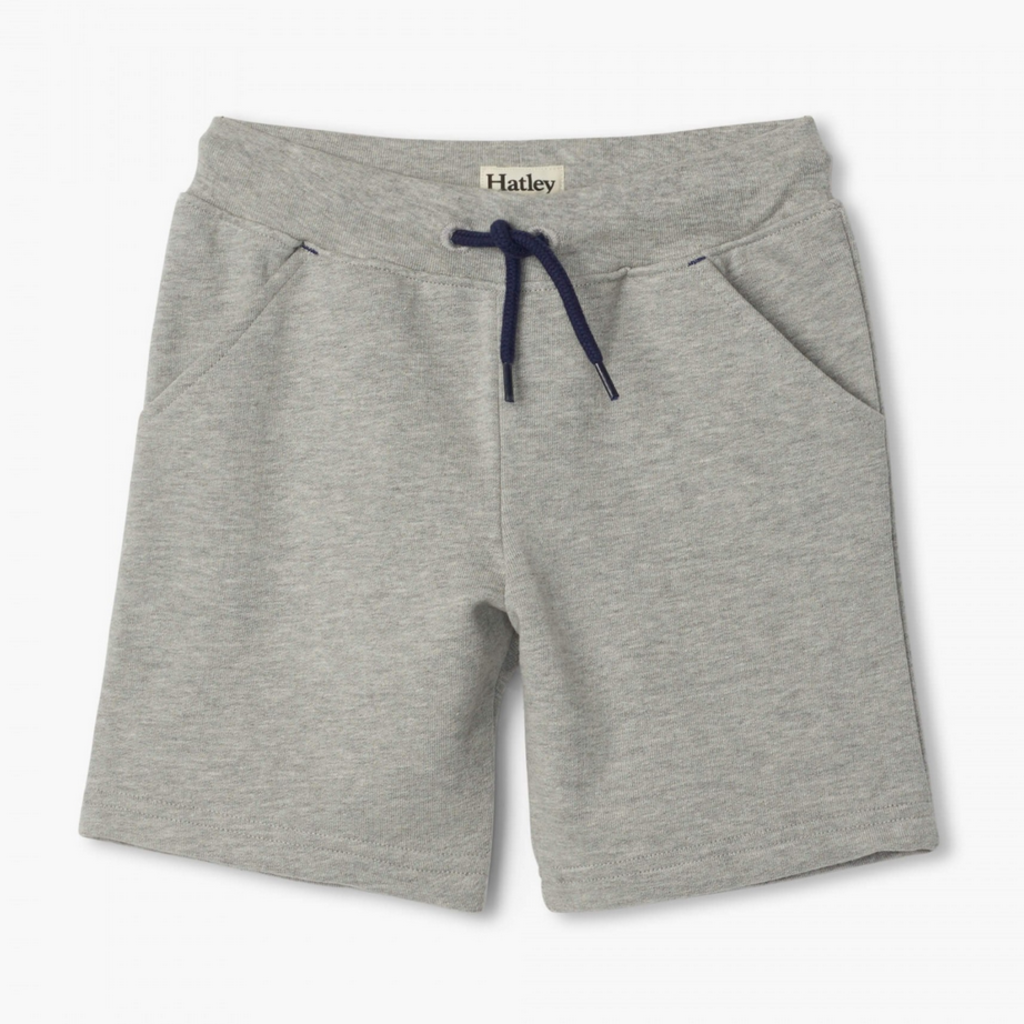 Hatley | Athletic Grey Terry Shorts