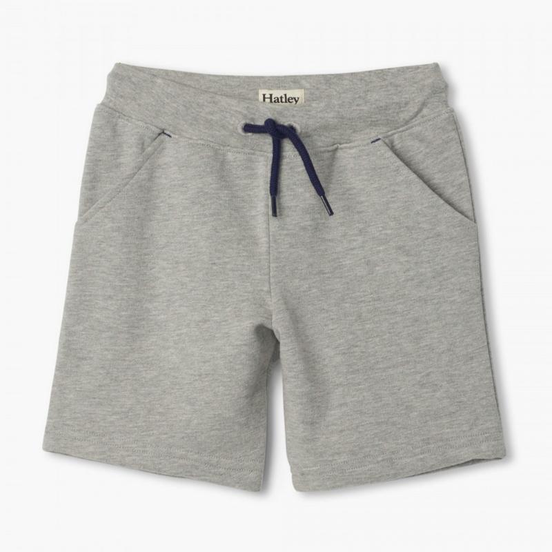 Hatley Hatley   Athletic Grey Terry Shorts