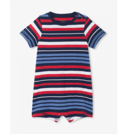 Hatley Hatley | Nautical Stripe Baby Romper