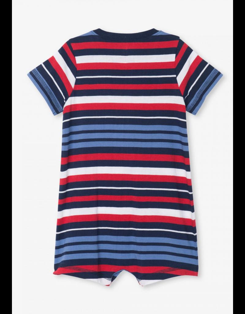Hatley Hatley | Nautical Stripe Baby Romper