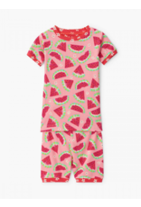 Hatley Hatley   Watermelon Slices Organic Pajama Set