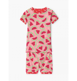 Hatley Hatley | Watermelon Slices Organic Pajama Set