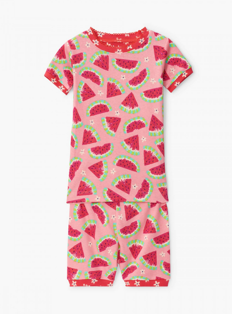 Hatley Hatley | Watermelon Slices Organic Pajama Set