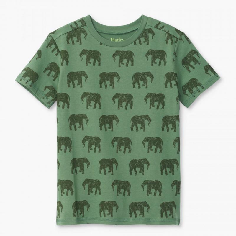 Hatley Hatley | Elephant Herd Graphic Tee