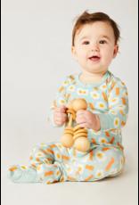 Clover Kids Clover Kids | Bacon & Eggs Footie