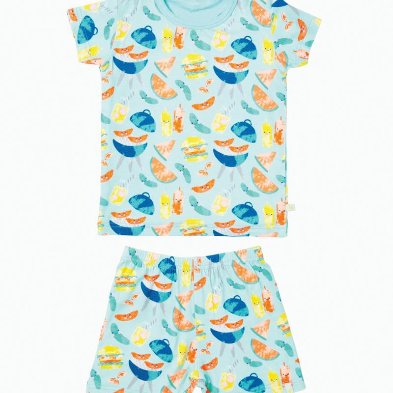 Clover Kids | BBQ Two Piece Pajama