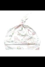 Angel Dear Angel Dear | Pink Elephant Knot Hat