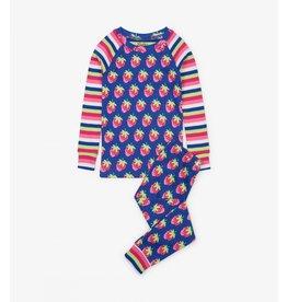 Hatley Hatley   Strawberries Organic Pajama Set