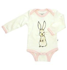 Babysoy Janey Baby Goodall Animal Body Suit- Rabbit
