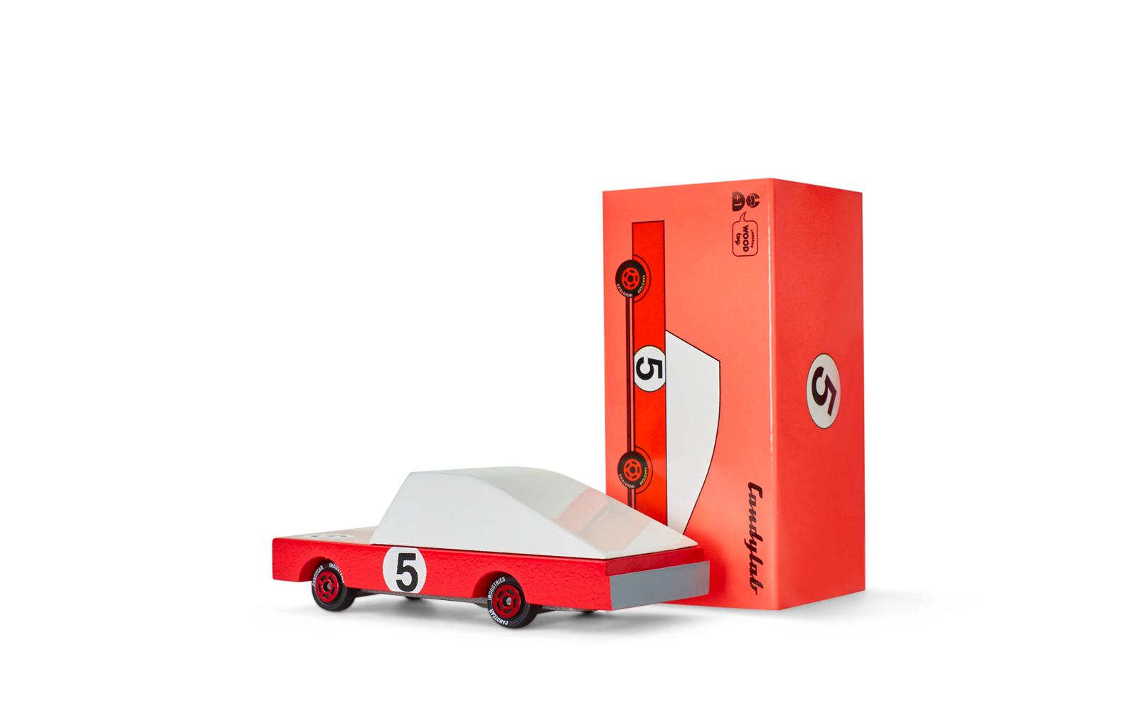 Candylab Candycar Red Racer #5