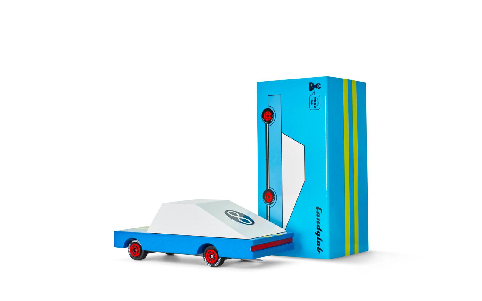 Candylab Candycar Blue Racer #8