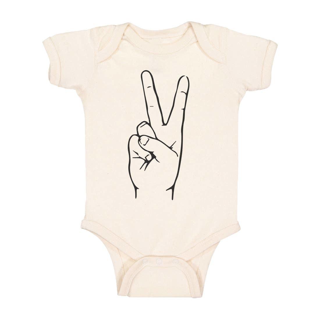 Polished Prints Polished Prints | Peace Baby Bodysuit