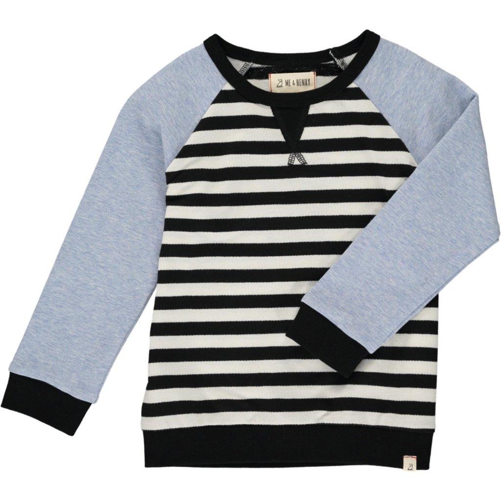 Me & Henry Me & Henry   Raglan Striped Shirt