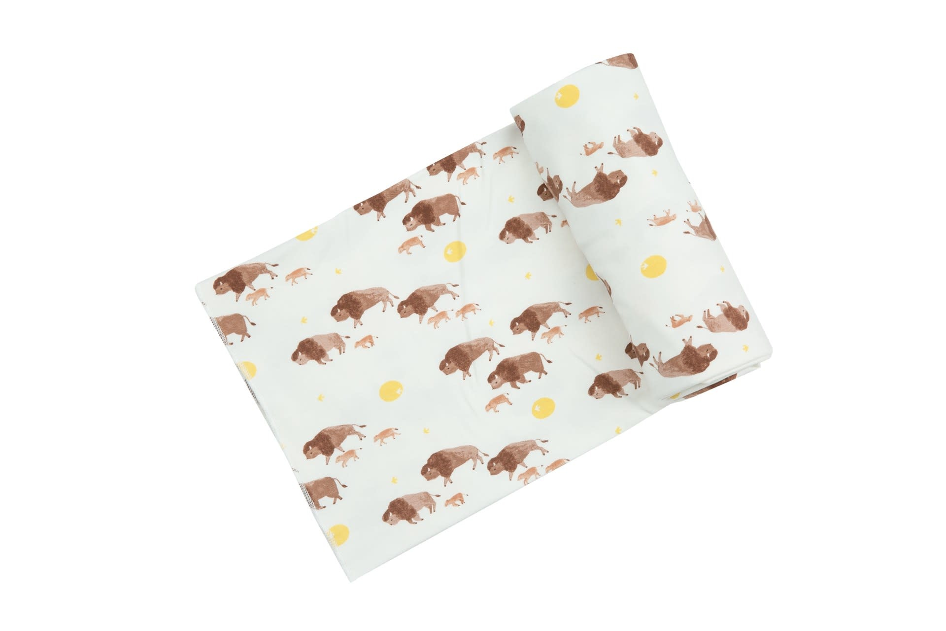 Angel Dear Angel Dear | Bison Swaddle Blanket