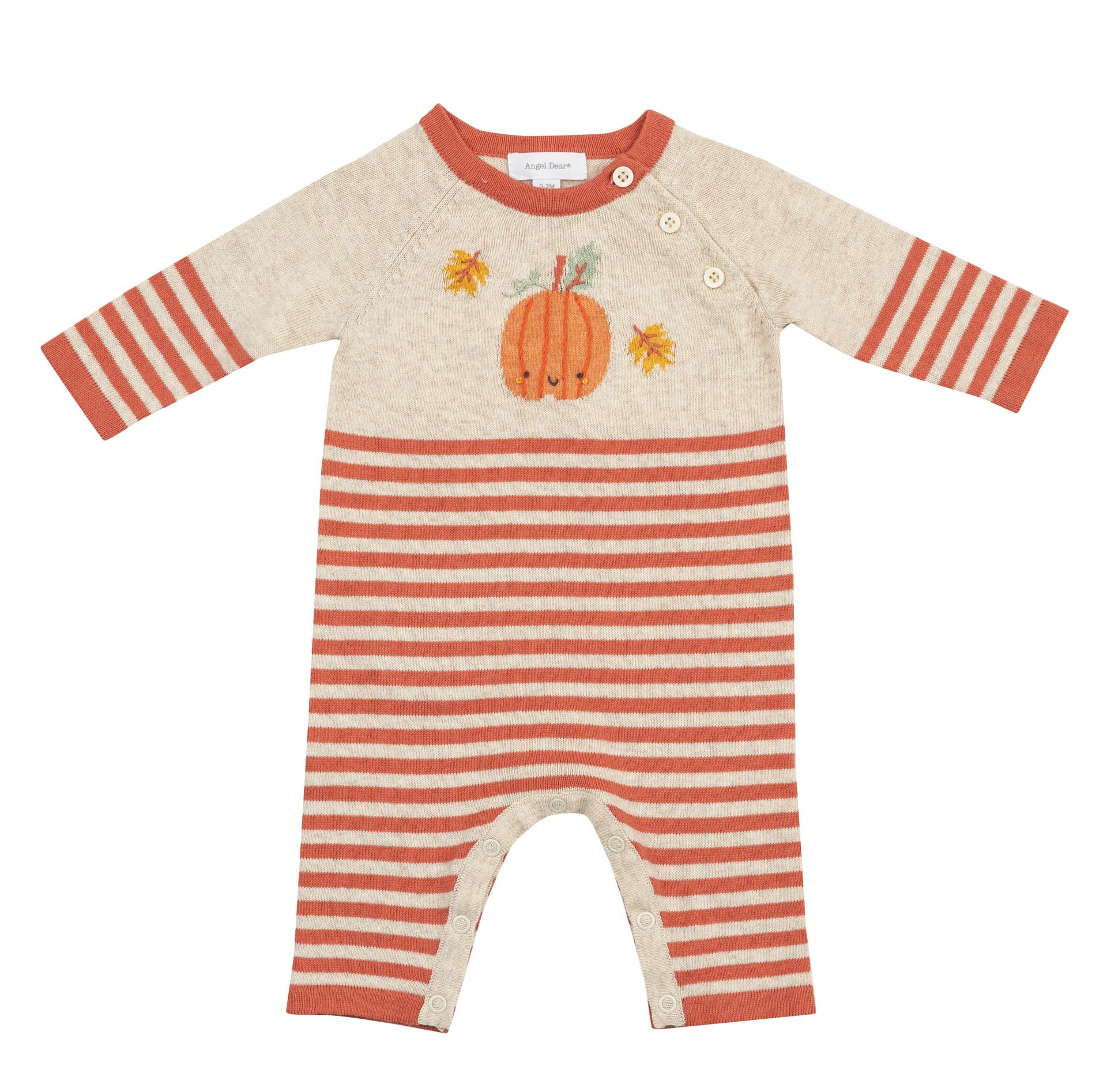 Angel Dear Angel Dear | Pumpkin Coverall