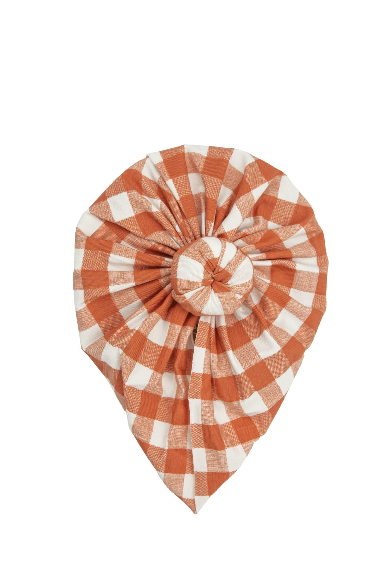 Angel Dear Angel Dear | Gingham Pumpkin Norma Headwrap