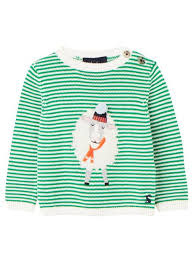 Joules Joules | Green Sheep Sweater