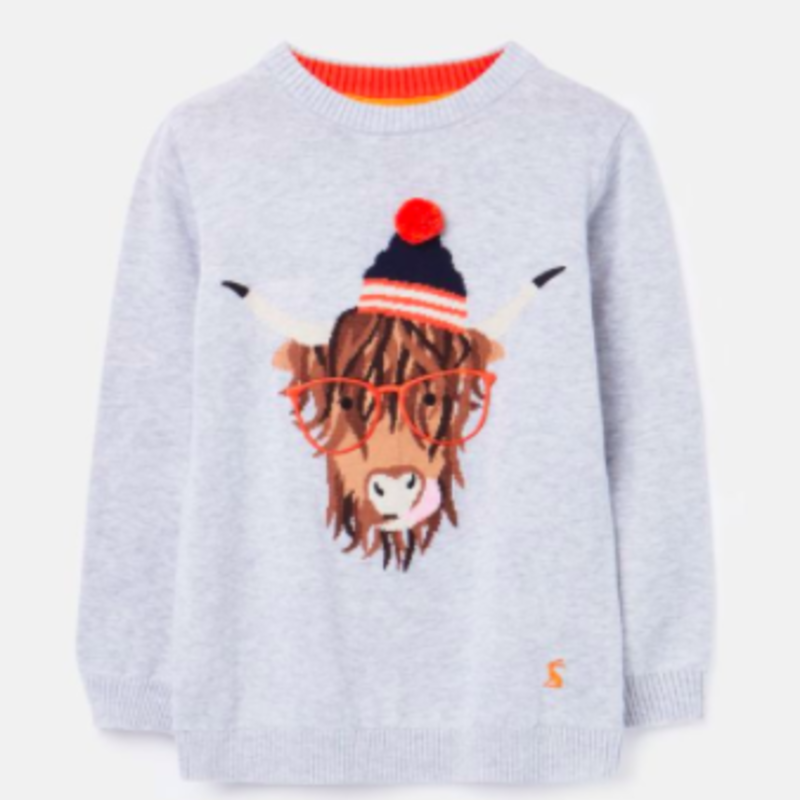 Joules   Cotton Cow Sweater