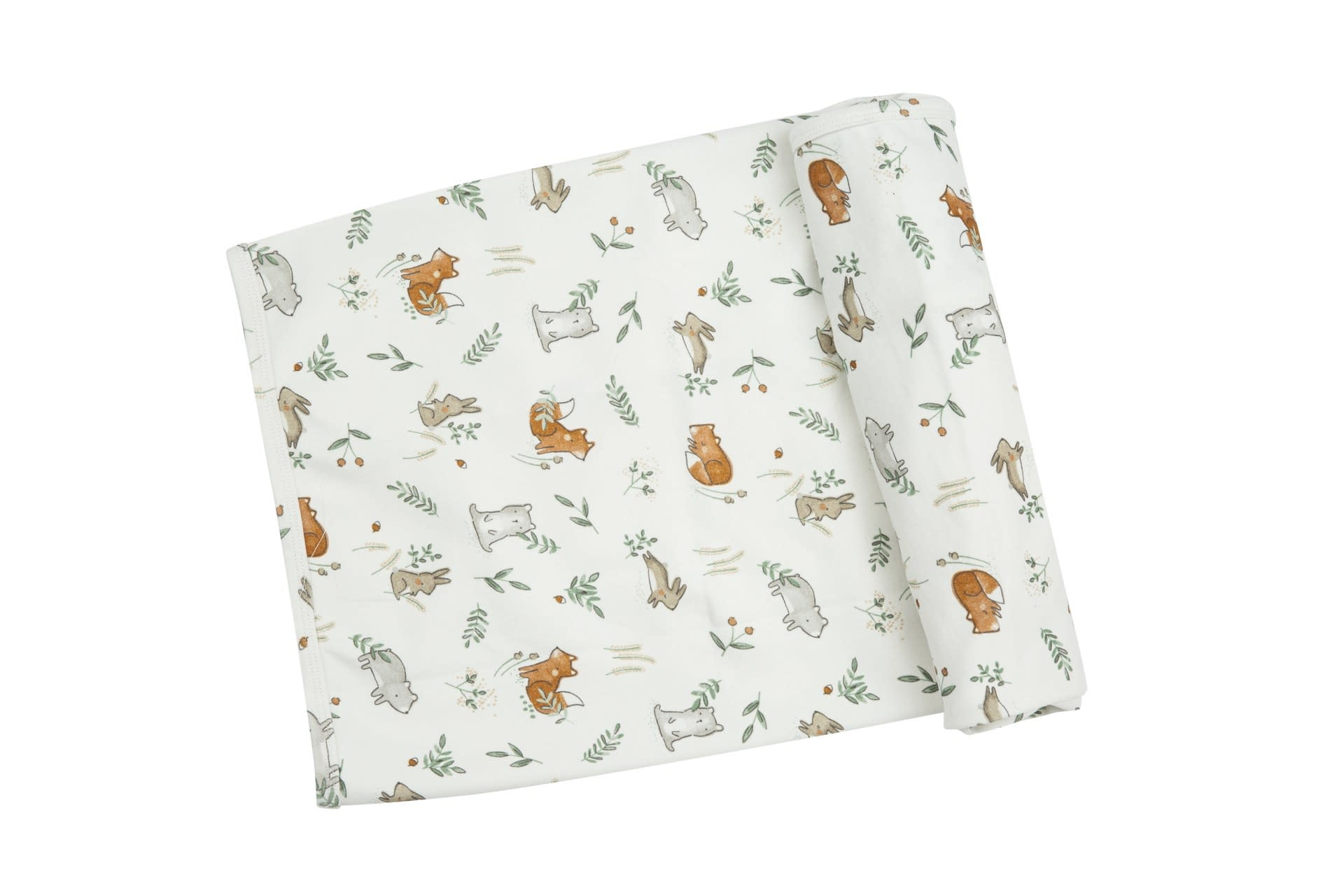 Angel Dear Angel Dear | Delicate Woodland Swaddle Blanket