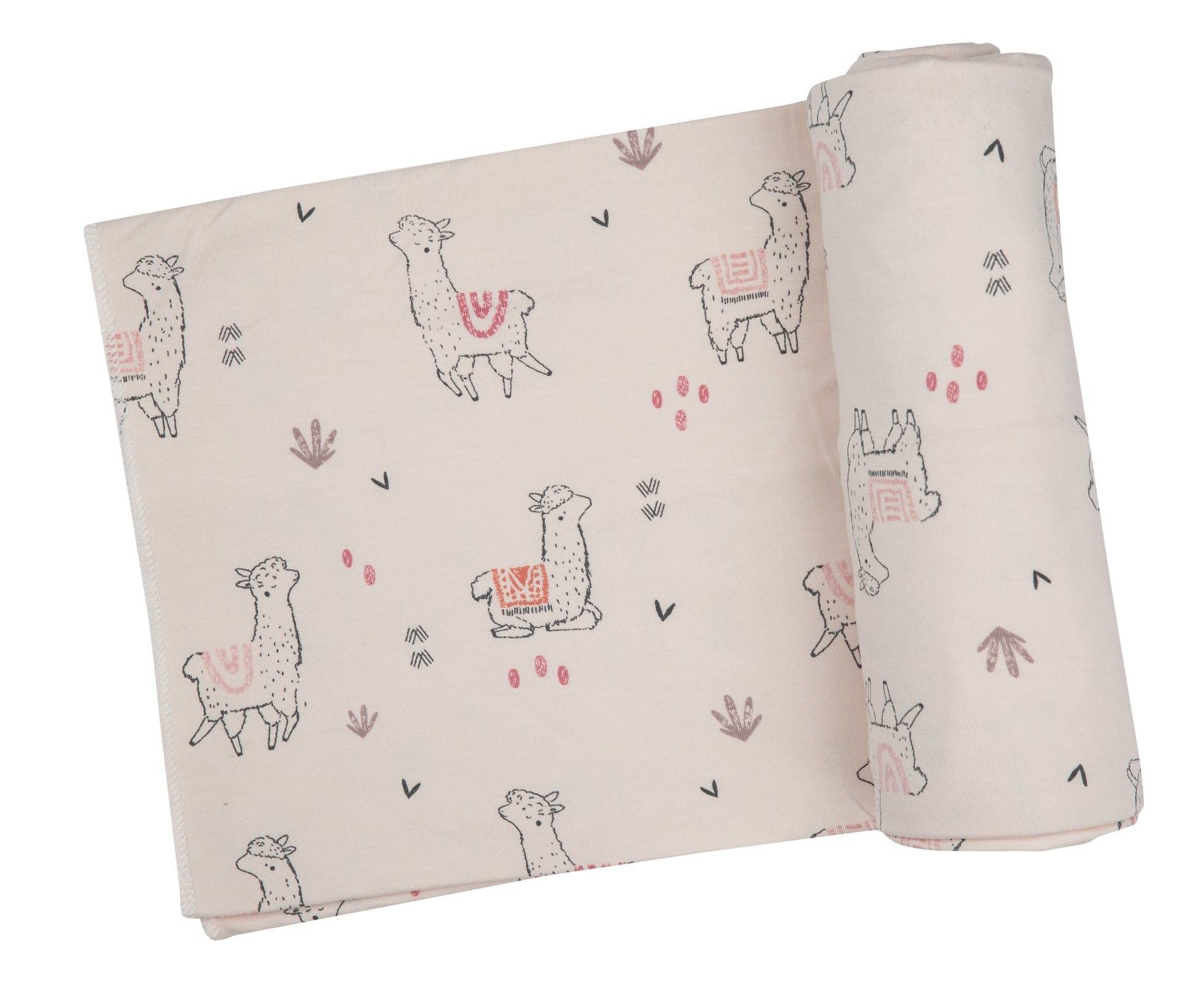 Angel Dear Angel Dear | Llama  Swaddle Blanket