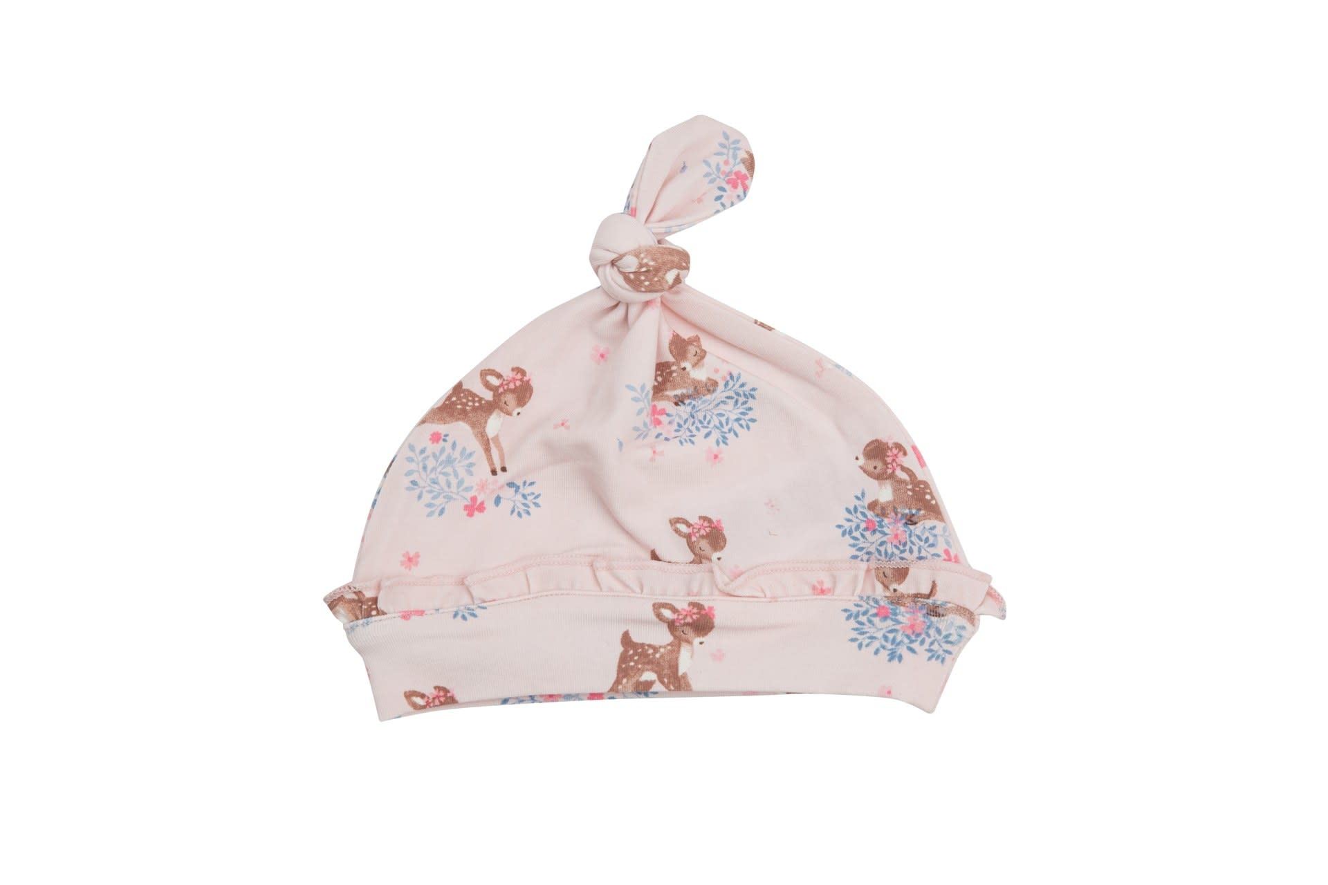 Angel Dear Angel Dear | Woodland Deer Ruffle Knotted Hat