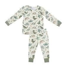 Angel Dear Angel Dear | Crayon Dinosaur Lounge Wear Set