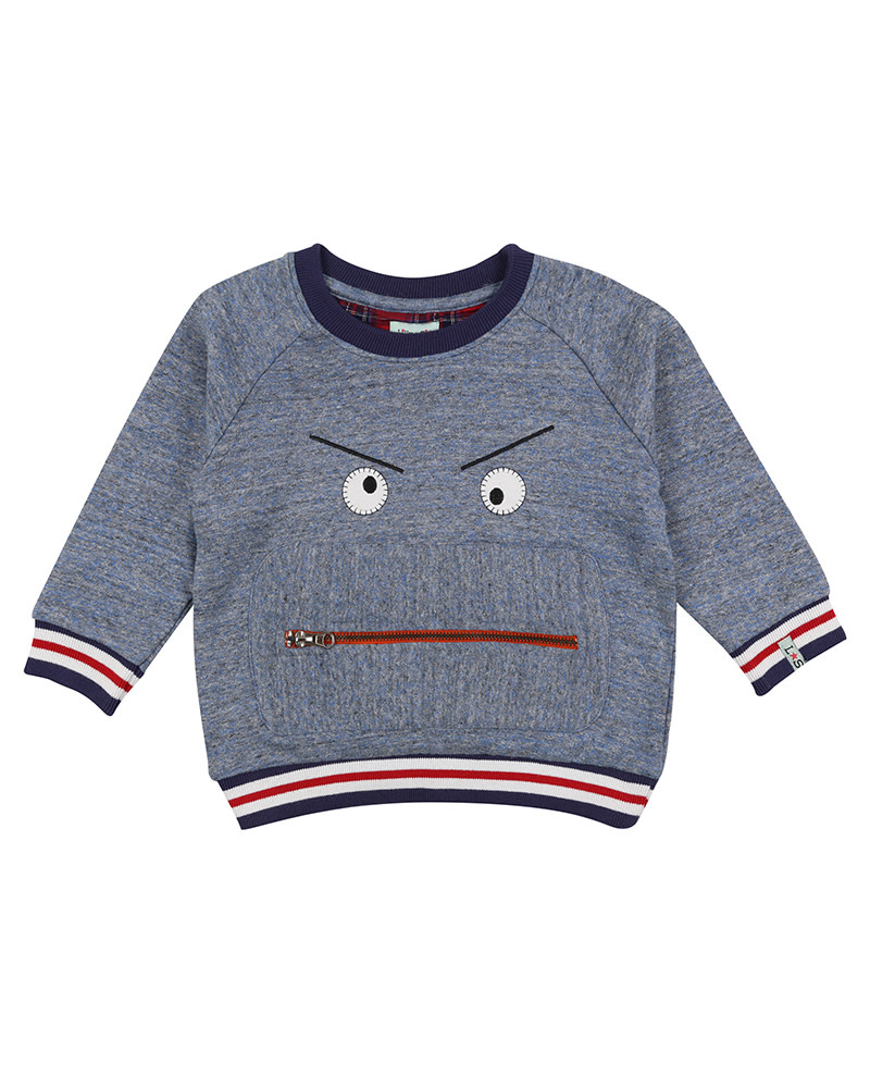Lilly & Sid Lilly & Sid | Zippy Monster Sweatshirt