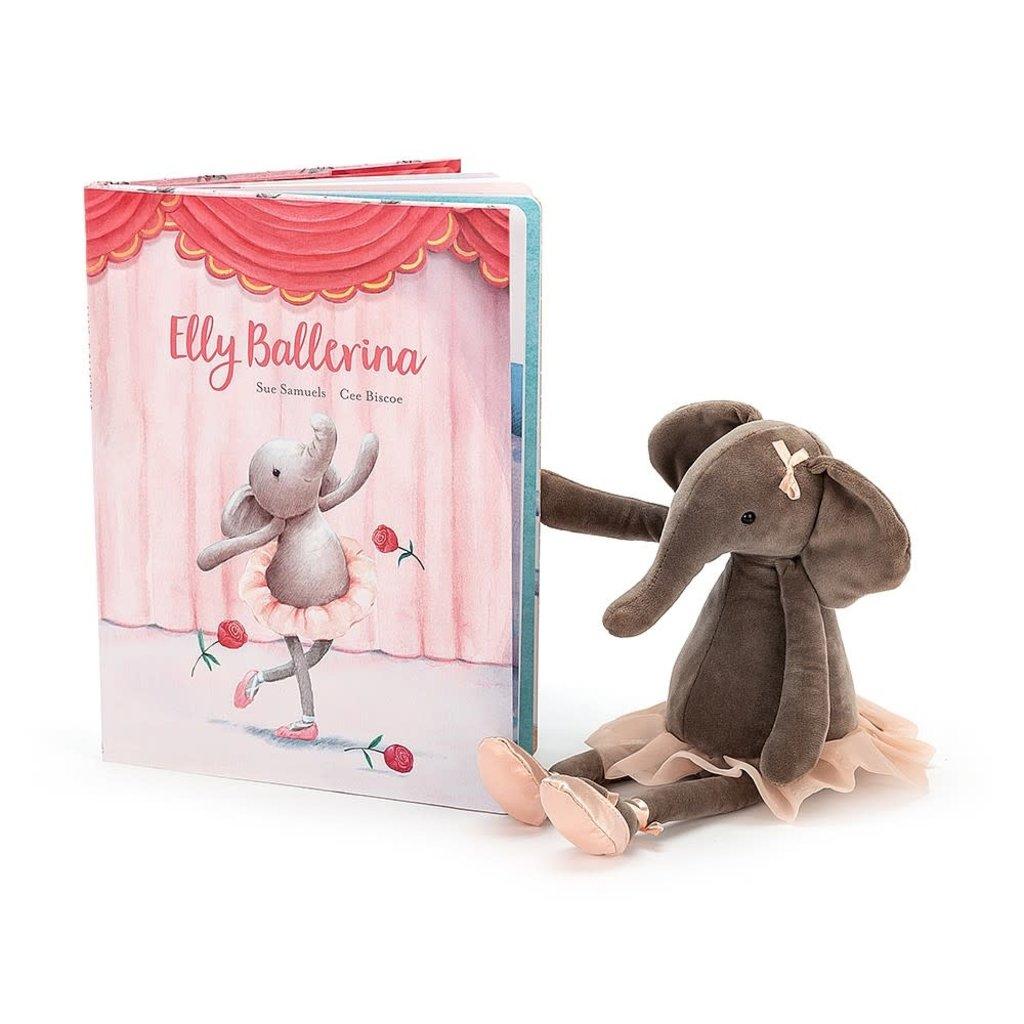 JellyCat Jellycat   Elly Ballerina Book