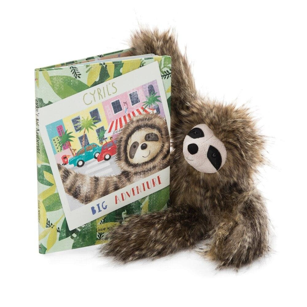JellyCat Jellycat | Cyril's Big Adventure Book